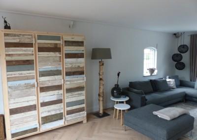 Project verbouwing woonkamer, keuken en berging